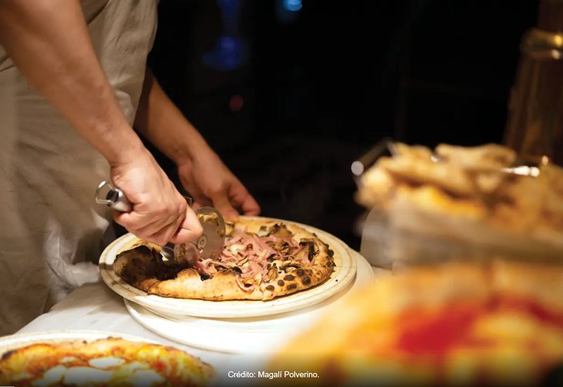 Le pizze di Buenos Aires