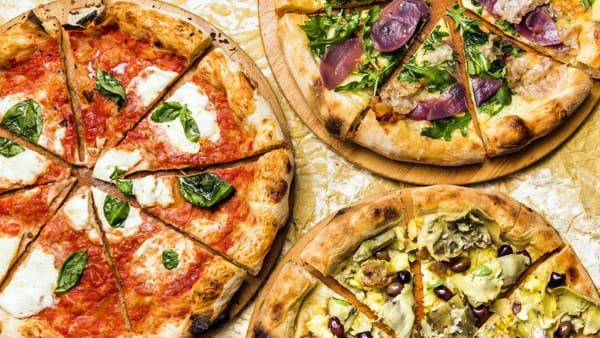 Le pizze tonde di Pane e Tempesta