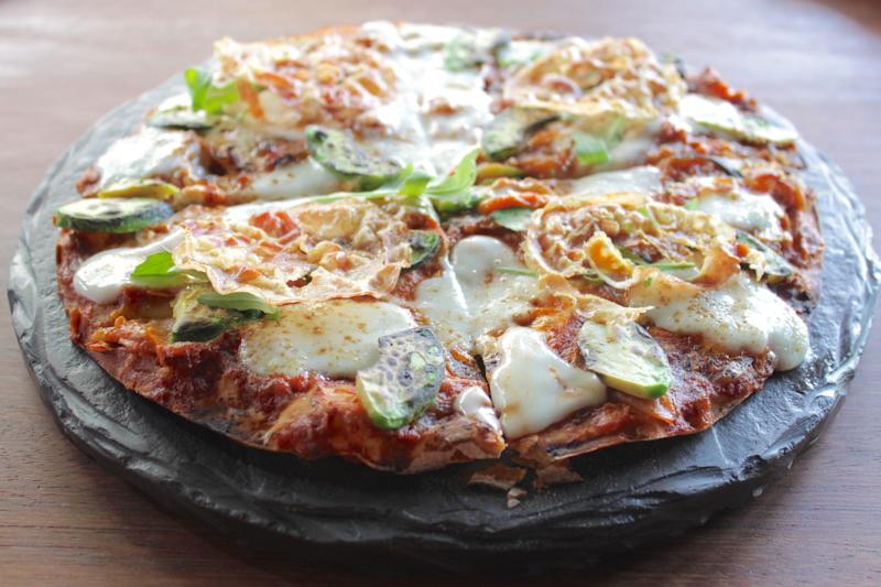 La pizza peruviana di Arlette Eulert