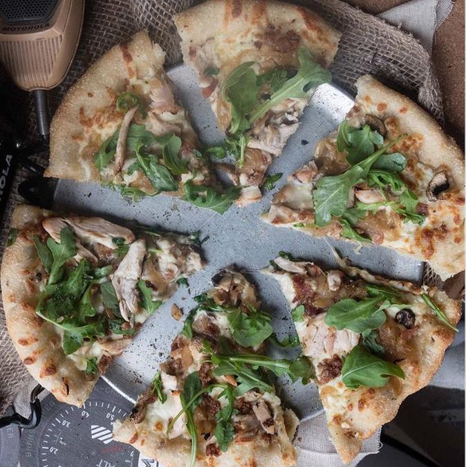 La pizza di Barnstormers