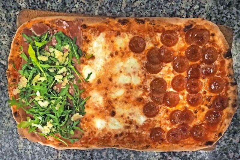 Pizza della pizzeria Oh! Lio