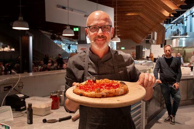 Franco Pepe – impronte di pizza pizza