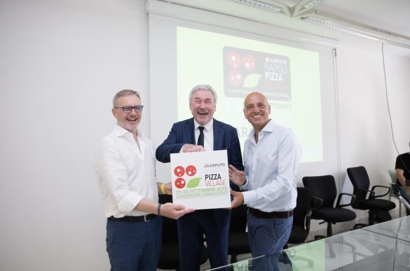 Claudio sebillo, Enrico Panini e Alessandro Marinacci - Pizza Village